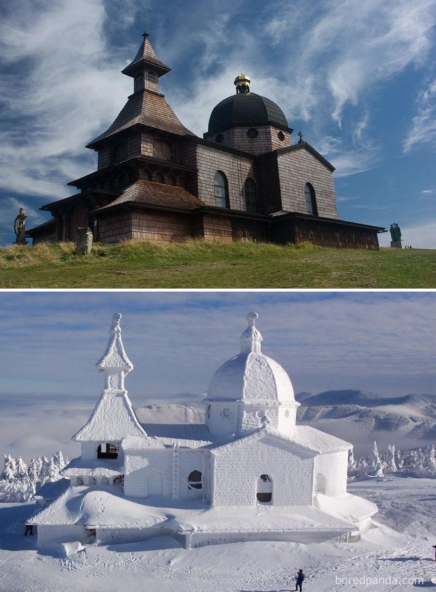 Гора Радгошть,  Горы Бескиды, Чехия
