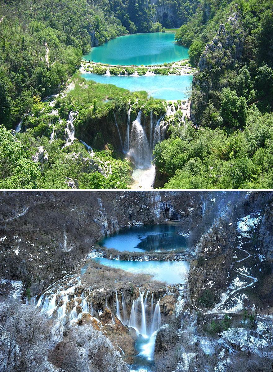 Плитвицкое озеро, Хорватия
