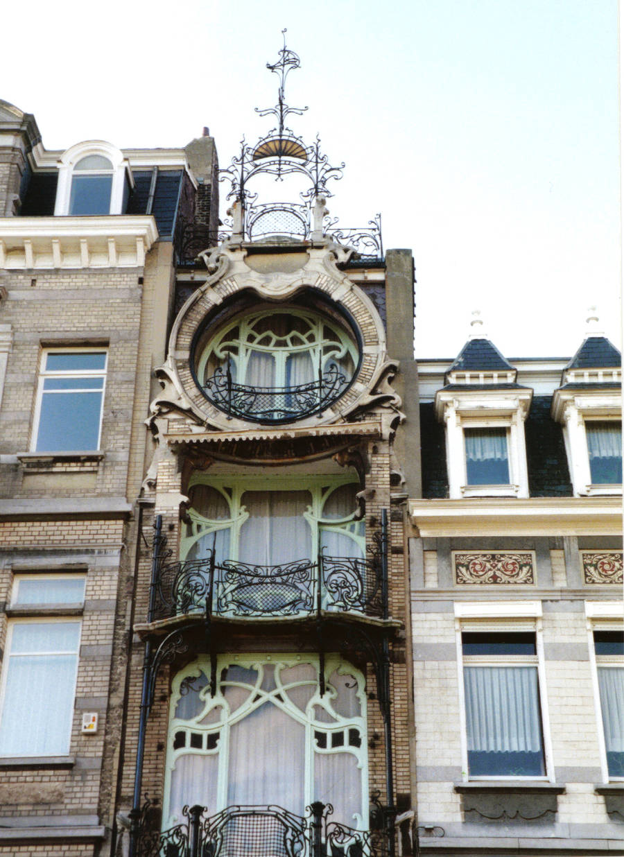 Immeuble au style Art Nouveau, Брюссель