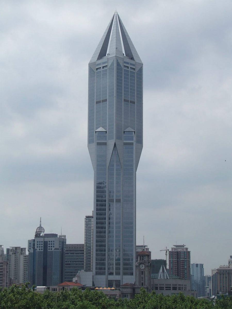 Tomorrow Square Building, Шанхай