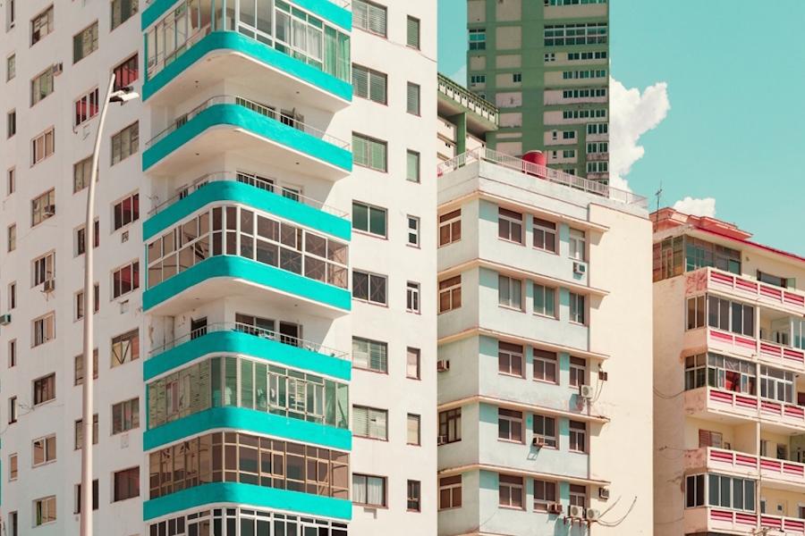 цветные здания