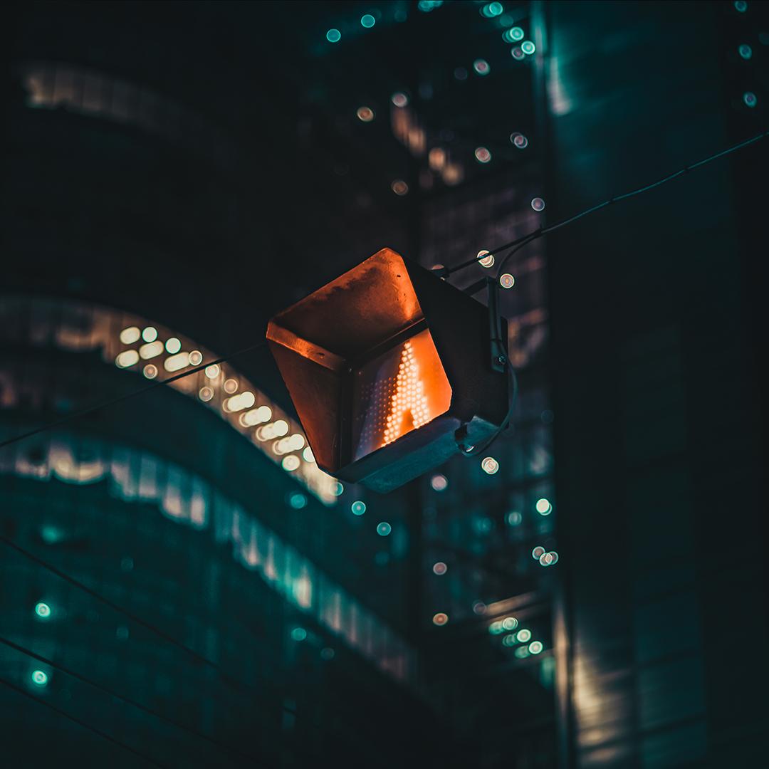 Варшава ночью