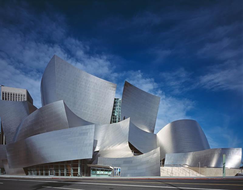 The Walt Disney Concert Hall – Лос-Анджелес, штат Калифорния, США