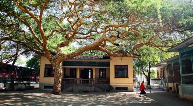 Монастырская трапеза. Анапура. Бирма