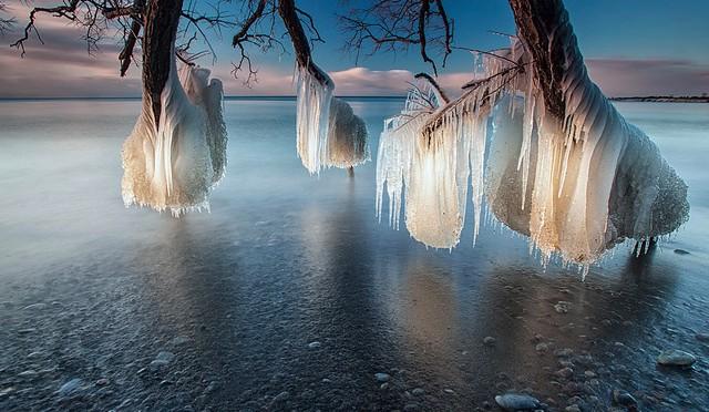 ледяное озеро