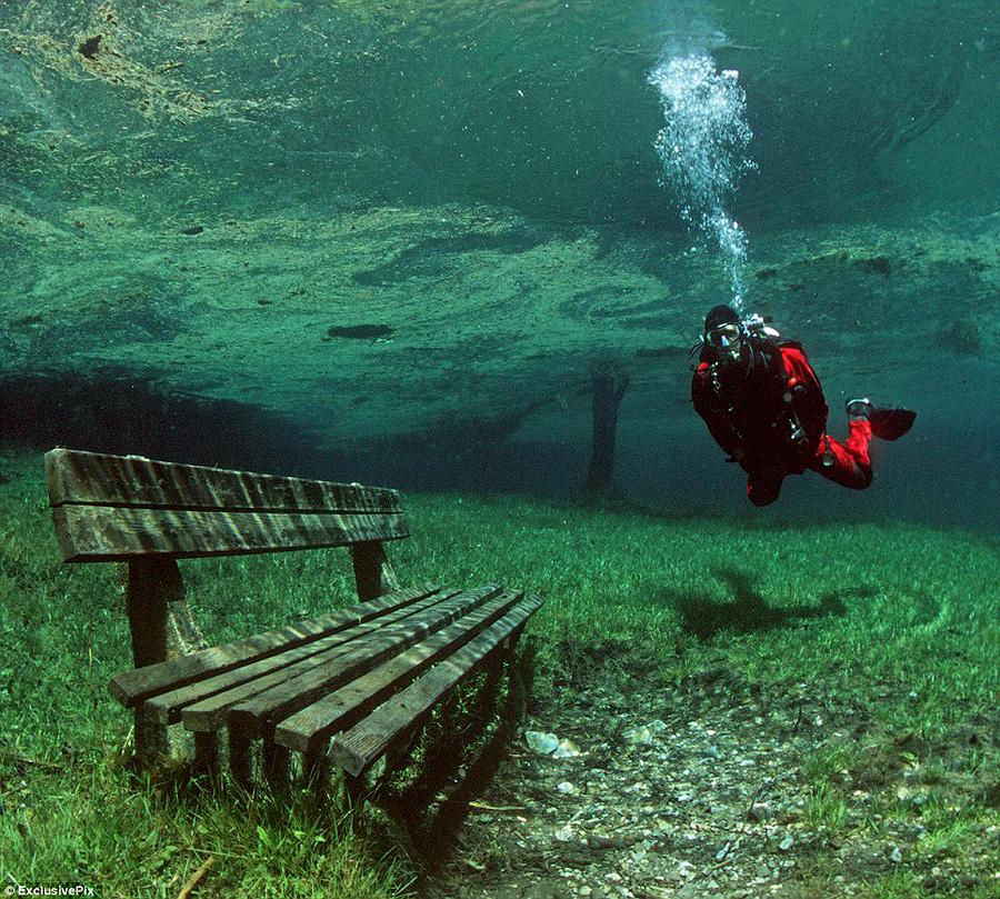 парк под озером