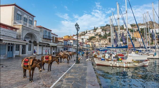 Идра: остров без автомобилей