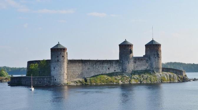 Финляндия: крепость Олавенлинна