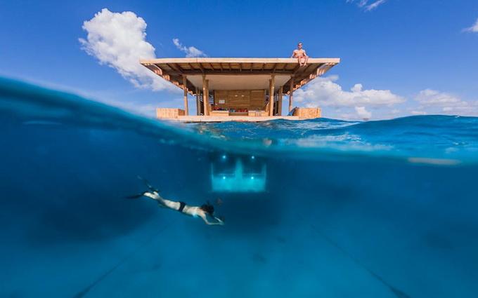 отель с номерами под водой