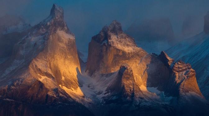 Национальный парк Торрес дель Пайне в Чили