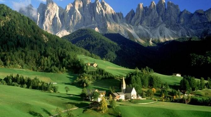 Путешествие в Австрию на поезде