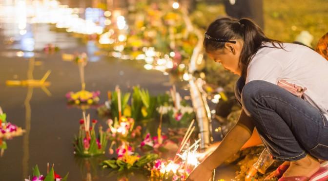 Праздник света и воды в Таиланде