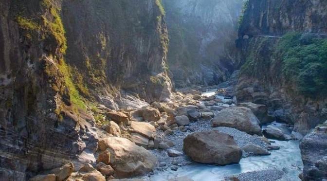 Мраморное ущелье в Тайвани
