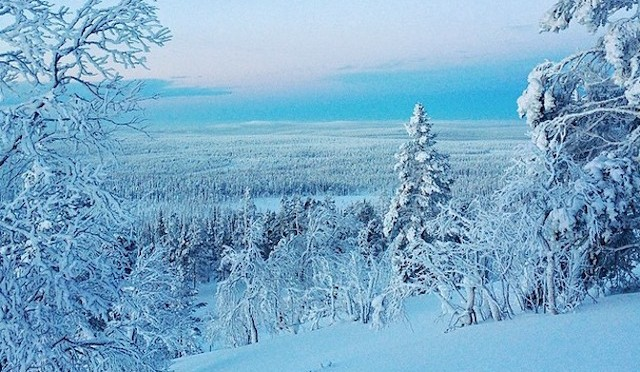 Север, царство красоты