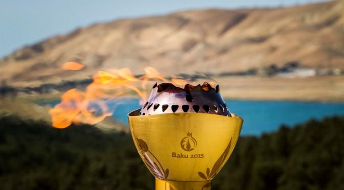 Церемония открытия Первых европейских игр в Баку 2015