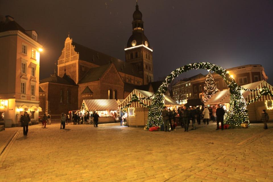 Отправляемся в турпоездку в Латвию