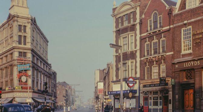 Старые фотографии исчезнувшего Ист-Энда Лондона