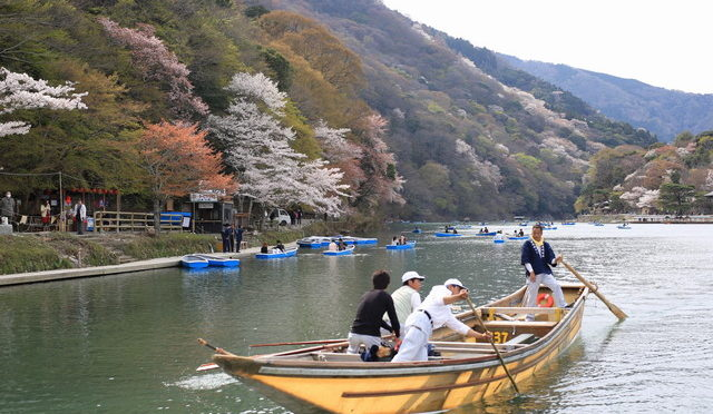 япония река