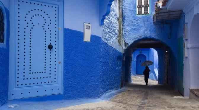 Голубой Марокко