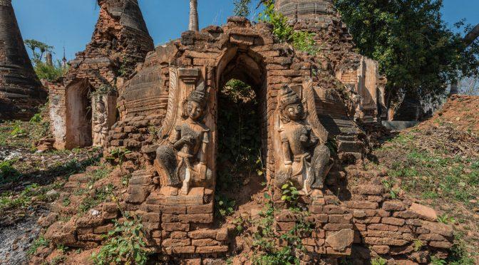 Руины храмов в Ин-дейн