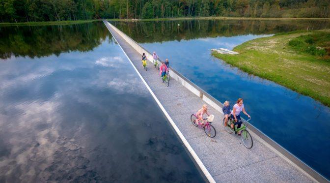 Сквозь воды… Велодорожка.